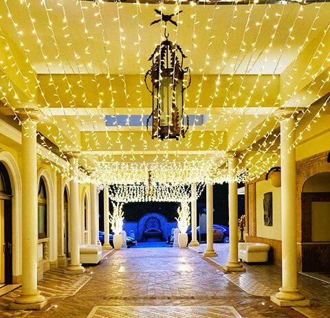 Lights' Curtain