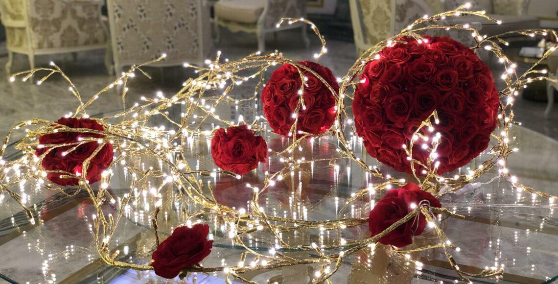 tavolo san valentino